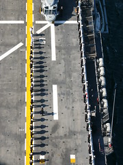 all lined up (Jef Poskanzer) Tags: fleetweek lhd6 amphibiousassaultship fleetweek2006 sfchronicle96hours sanfranciscochronicle96hours ussbonhommerichard waspclass