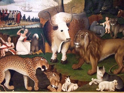 The Peaceable Kingdom by Edward Hicks 1846