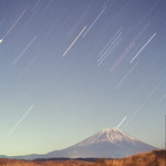 Mt.Fuji and Orion
