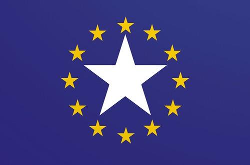 Flagge des Europan