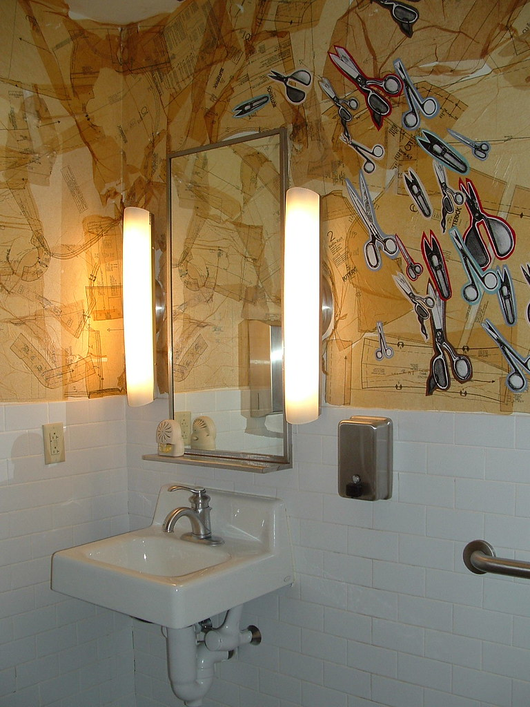 bathroom at work