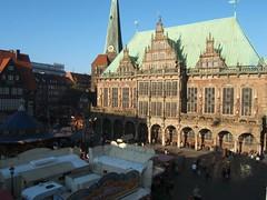 Bremer Rathaus/Bremen City Hall  (yingtang1) Tags: germany cityhall bremen rathaus  germany2006