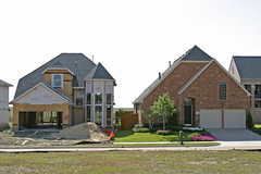 """Like Sausages"" (Dean Terry) Tags: houses house dallas construction texas suburbia unfinished suburb sprawl mcmansion subdivision northtexas urbansprawl subdivided friscotexas"