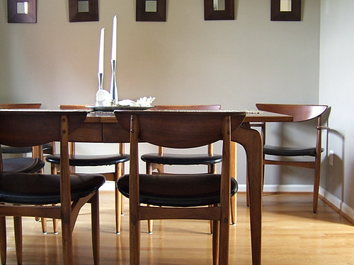 How much do I LOVE the new dining room set?