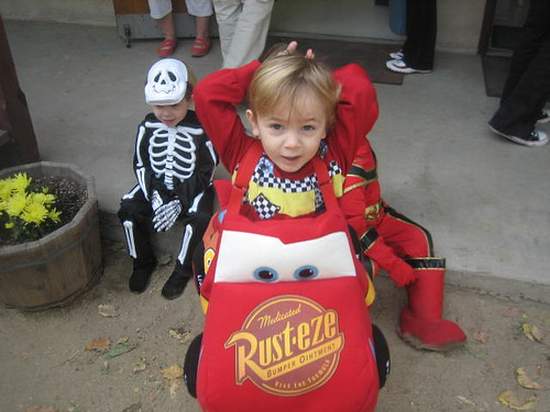 Lightening McQueen!