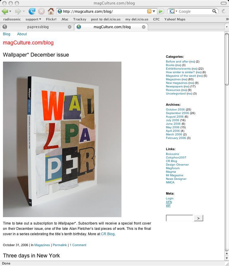 magCulture Blog