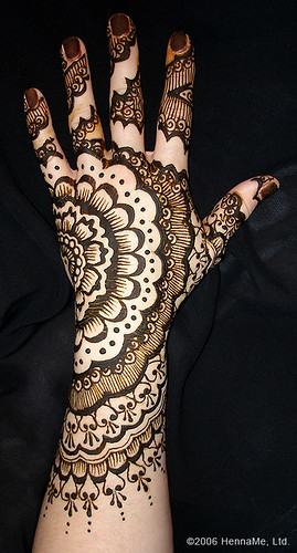 Mehndi Design. September 6, 2008