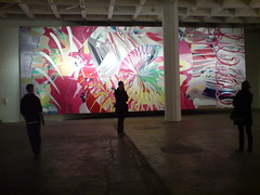The Stowaway Peers Out at the Speed of Light (waterboyzoo) Tags: london art painting james artist exhibition popart rosenquist haunchofvenison jamesrosenquist