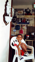 registkid (papa) Tags: boy brown black smile french kid holidays noir child skin little brother african afro bro enfant schwarz ebony regis afripolitain