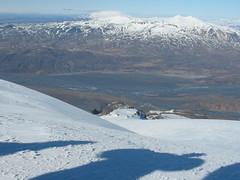 View from a glacier (Kvalka) Tags: white mountain snow cold ice landscape iceland shadows glacier fujifilmfinepixs9500 kvalka