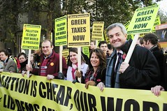Lib Dems on the Stop Climate Chaos March (greentaxswitch) Tags: green switch politics environment tax democrats liberal