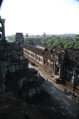 The top of Angkor Wat