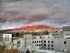Reno sunrise - by Bill Strong