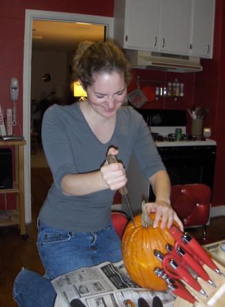 Sarah's first stab.