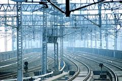 blue station (otarako☺︎) Tags: station sendai