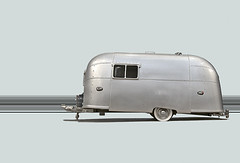 Airstream Trailer Caravanning (Metropol 21) Tags: travel classic scale mobile vintage silver miniature 1930s portable transport lifestyle icon minimal retro replica vehicle americana trailer collectible airstream motorhome rounded sleek aluminium homeowner recreational streamlinemoderne caravanning outstandingshots moderniconography diecastmodel
