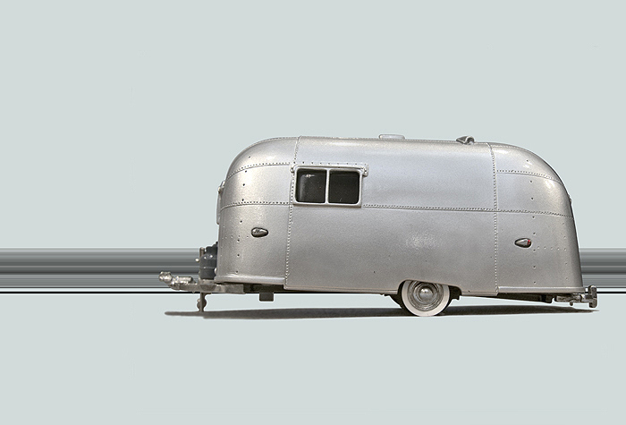 Airstream Trailer Caravanning on SquobStock
