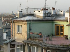 (jo.vanka) Tags: city building architecture loneliness photojournalism krakow center roofs cracow pl dachy