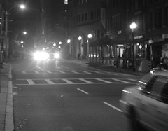 #031 (Pure Chewing Satisfaction) Tags: park street bw boston night t tren cool sleep homeles