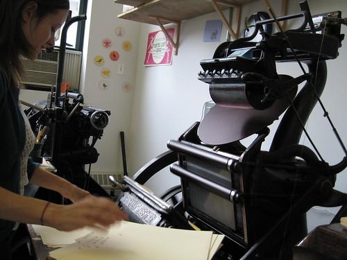 More Jobber Action by sesame letterpress.