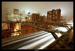 Night and the City (Arnold Pouteau's) Tags: nyc newyorkcity longexposure night clouds manhattan brooklynbridge abigfave nyc10