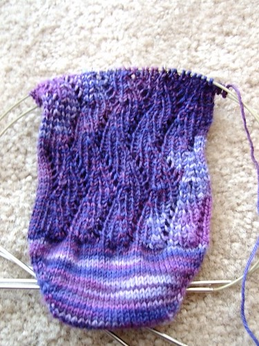 Sensational KS  Sock Progress - something rib