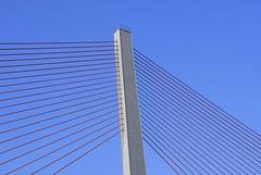 Mainly blue... (manganite) Tags: blue sky colors architecture modern digital river germany geotagged nikon colorful europe bonn tl bridges bluesky onecolor d200 nikkor dslr rhine thecolorblue northrhinewestphalia 18200mmf3556 utatafeature manganite nikonstunninggallery challengeyou challengeyouwinner geo:lat=5075515277211868 geo:lon=7098186490586373 date:year=2006 date:month=october date:day=15 stadtgetty2010