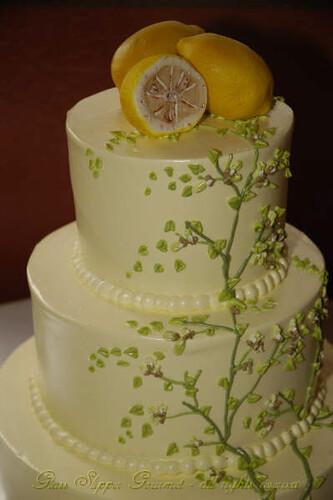 Spring! with handmade marzipan lemons