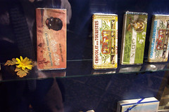 chocolates from Gay Odin - Piazza Plebiscito (a-birdie) Tags: chocolates naples shopwindow odin chocolatebars gayodin