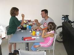 Caleb, Anna and Brad in Sydney