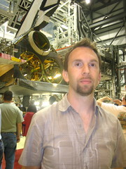 Andy with Endeavour