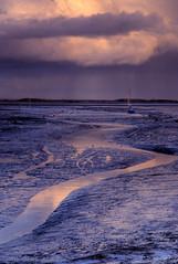 Purple Sea (Pakora) Tags: sea water boats sand nikon haylingisland sigma solent hdr tonemapped d80