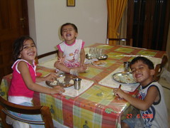 Happy for Lunch! (ashwinkshah) Tags: kids joly