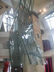 Guggenheim Museum Bilbao Interior (gundust™) Tags: architecture frank spain august gehry 2006 bilbao guggenheim basque euskadi