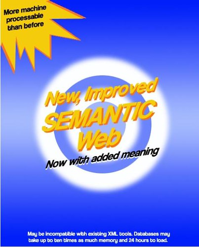 Semantic Web pour tous !: picture New, Improved *Semantic* Web! by dullhunk