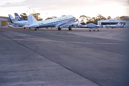 C-47A ZK-AMS