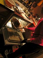 basting (ichabod2) Tags: thanksgiving newyork cooking kitchen turkey country basting standfordville