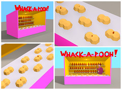 Whack-a-Pooh (in my twisted mind) (Laser-Lisa) Tags: poopreport whackapooh
