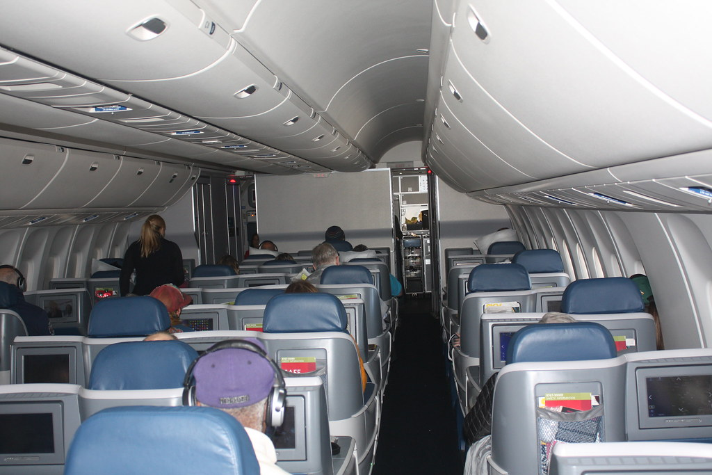 The world 39 s most recently posted photos of 767 and for Delta airlines dogs in cabin
