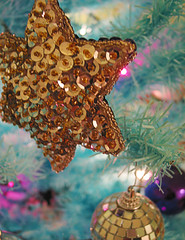 festive (tamelyn) Tags: christmas holiday festive holidays chanukah ornaments fabulous sequins mirrorball hanukkah christmascalendar2006 7thdecember