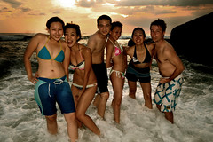 good times1. (theshanghaieye) Tags: ocean sunset sea beach rock happy interestingness funny surf waves philippines explore tropical owen kimmy candice tropics andi goodtimes crashing reb zambales
