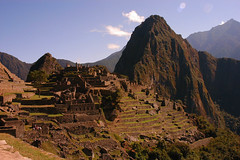 Machu Picchu                             (story better than my photo) (Dave Schreier) Tags: peru machu picchu ruins searchthebest fave andes a mywinners abigfave outstandingshot