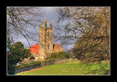 Tillington 21 Jan 2007 (strussler) Tags: england church canon eos 350d westsussex sigma deer coronet hdr stags helluva tonemapped 5xp outstandingshots tillington impressedbeauty scotscrown