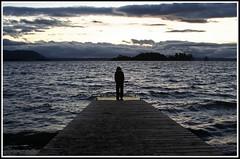 Solitude (ifoto.cl) Tags: muelle solitude ray loneliness searchthebest solo navarro anochecer ignacio osvaldo thok lican tamoe thokrates