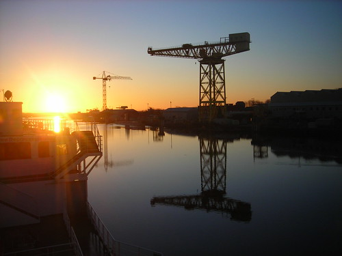 Morning, Buccleuch Dock
