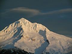 Black Sky (loloboho) Tags: winter sunset mountain snow mountains nature oregon cascades lolopass 200mm