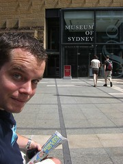 Pat At The Museum Of Sydney