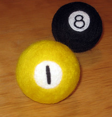 needle felted billiards project 2.0