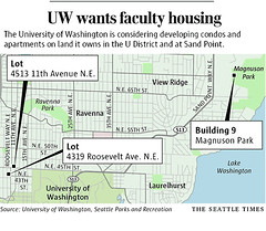 University of Washington to construct faculty housing
