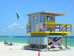 South Beach Lifeguard Hut (WePhotographer) Tags: florida miami miamibeach southbeach sobe lifeguardhut southbeachlifeguardhut